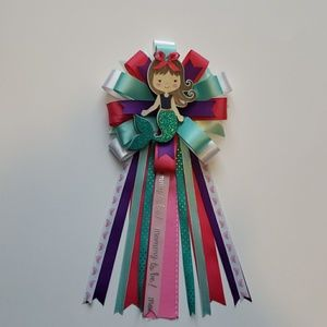 Accessories - Baby shower corsage/mermaid theme/it's a girl